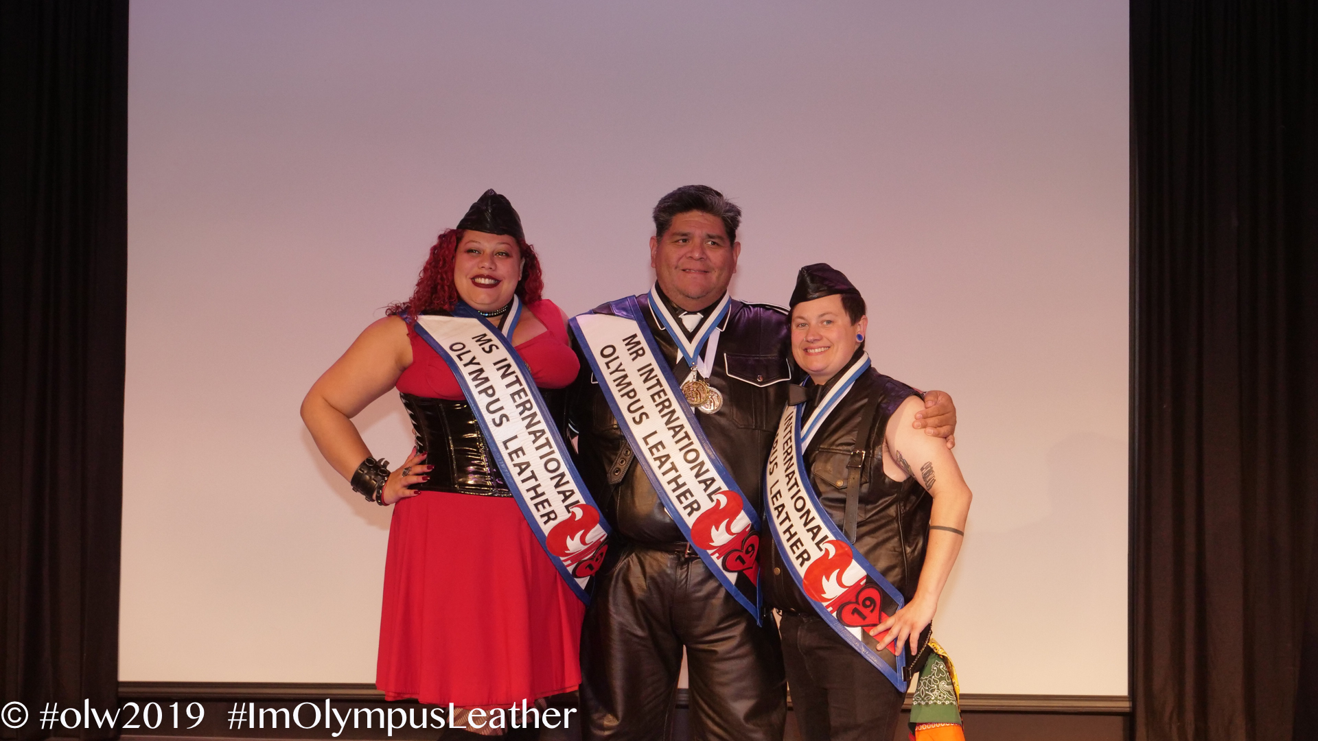 international olympus leather winners 2019